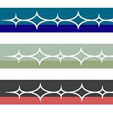 ダイヤ模様のライン素材-2